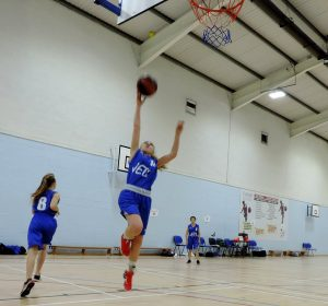 Hereford girls basketball Boudicca Biggs Roar basketball
