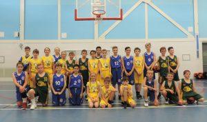 Roar basketball Herefordshire Filton flyers dorset storm regional league