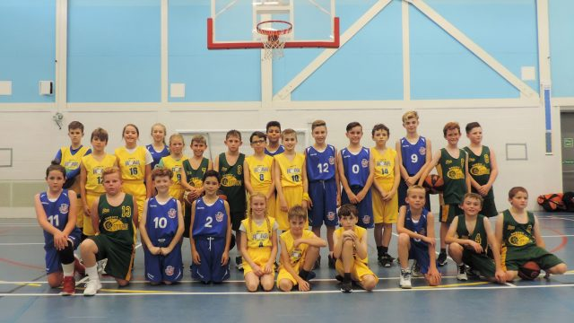 Roar Hereford junior basketball Herefordshire