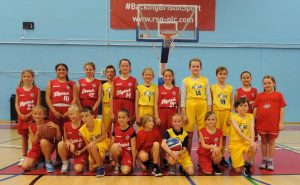 Hereford ROAR Basketball u12 Filton Flyers Girls